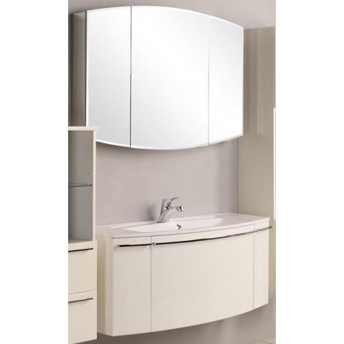 Мебель для ванной Акватон Севилья 120 подвесная с зеркалом-шкафом