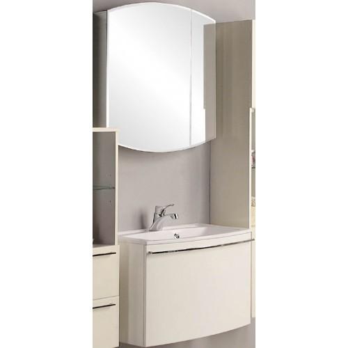 Мебель для ванной Акватон Севилья 80 подвесная с зеркалом-шкафом