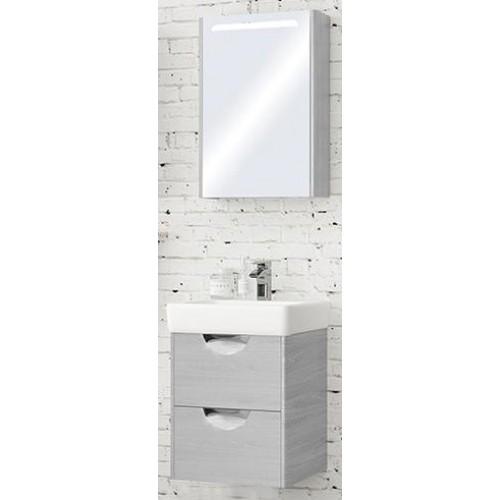 Мебель для ванной Акватон Сильва 50 подвесная левая дуб фьорд