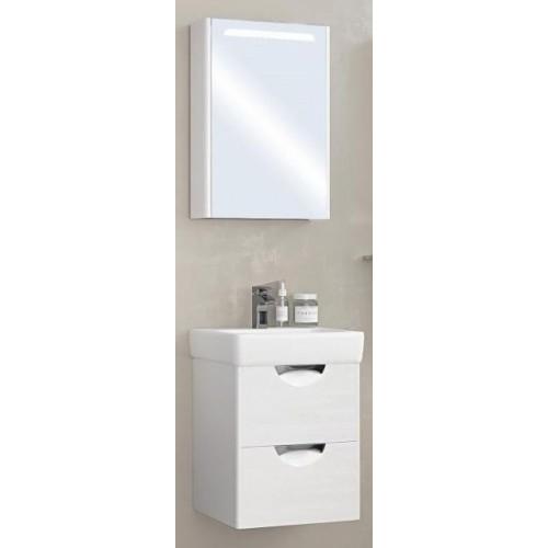 Мебель для ванной Акватон Сильва 50 подвесная левая дуб полярный
