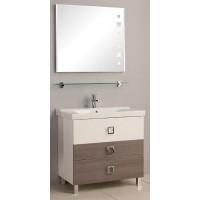 Мебель для ванной Акватон Стамбул 85 напольная лиственница