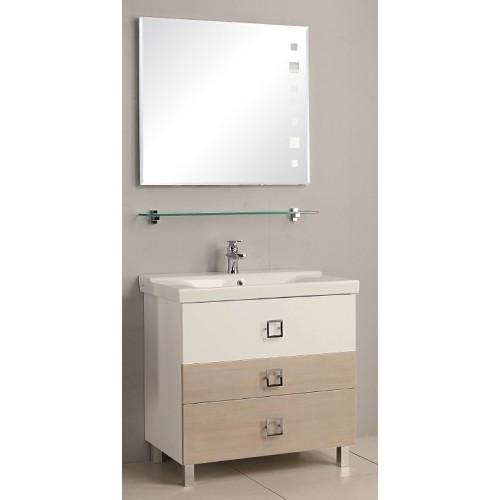 Мебель для ванной Акватон Стамбул 85 напольная сосна ларедо