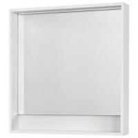 Зеркало Акватон Капри 80х85 1A230402KP010 с полочкой с подсветкой