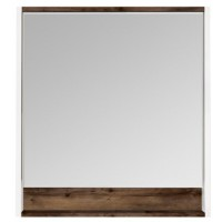 Зеркало Акватон Капри 80х85 1A230402KPDB0 с полочкой с подсветкой