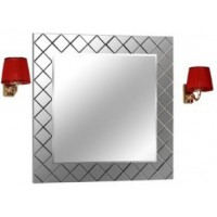 Зеркало Акватон Венеция 88х88 1A1557L0VN010 с подсветкой