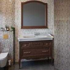 Мебель для ванной ASB-Woodline Модерн 105 антикварный орех