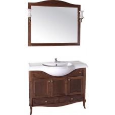 Мебель для ванной ASB-Woodline Салерно 105 орех антикварный