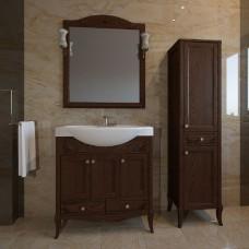 Мебель для ванной ASB-Woodline Салерно 80 орех антикварный