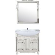 Мебель для ванной ASB-Woodline Верона 85 бежевая