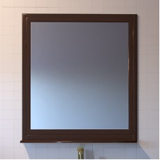 Зеркало ASB-Woodline Берта 85 орех антикварный