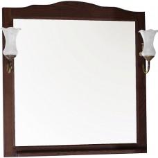 Зеркало ASB-Woodline Римини Nuovo 80 антикварный орех