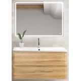 Мебель для ванной BelBagno Albano 80 подвесная rovere rustico с зеркалом с сенсорным выключателем