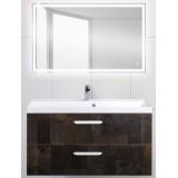 Мебель для ванной BelBagno Aurora 100 подвесная metallo зеркало с электровыключателем