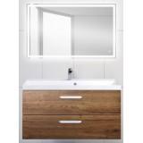 Мебель для ванной BelBagno Aurora 100 подвесная rovere tabacco зеркало с сенсорным выключателем