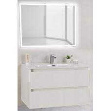 Мебель для ванной BelBagno Kraft 90 подвесная pietra bianca