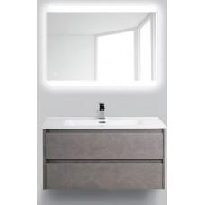 Мебель для ванной BelBagno Kraft 90 подвесная pietra grigio