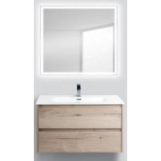 Мебель для ванной BelBagno Kraft 90 подвесная rovere galifax bianco
