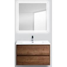 Мебель для ванной BelBagno Kraft 90 подвесная rovere tabacco