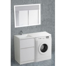 Мебель для ванной BelBagno Kraft-LVD 120 напольная левая bianco opaco