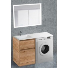 Мебель для ванной BelBagno Kraft-LVD 120 напольная левая rovere nebrasca nature