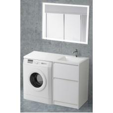 Мебель для ванной BelBagno Kraft-LVD 120 напольная правая bianco opaco