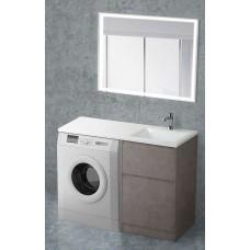 Мебель для ванной BelBagno Kraft-LVD 120 напольная правая pietra grigio