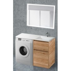 Мебель для ванной BelBagno Kraft-LVD 120 напольная правая rovere nebrasca nature