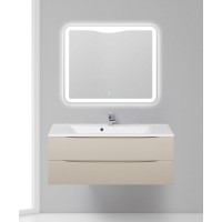 Мебель для ванной BelBagno Marino 120 подвесная crema opaco с зеркалом