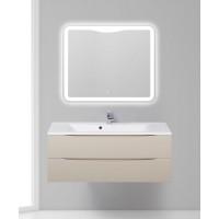 Мебель для ванной BelBagno Marino 120 подвесная crema opaco с зеркалом-шкафом