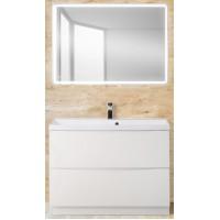 Мебель для ванной BelBagno Marino 80 напольная bianco lucido