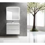Мебель для ванной BelBagno Vittoria 80 подвесная bianco lucido