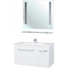 Мебель для ванной Bellezza Альдо 100 белая