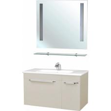 Мебель для ванной Bellezza Альдо 100 бежевая