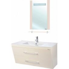 Мебель для ванной Bellezza Берта подвесная 100 бежевая