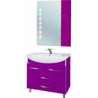 Мебель для ванной Bellezza Глория Гласс 90 фиолетовая