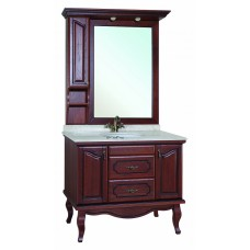 Мебель для ванной Bellezza Рим 110 вишня