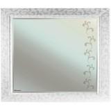 Зеркало Bellezza Маргарита 105 белое