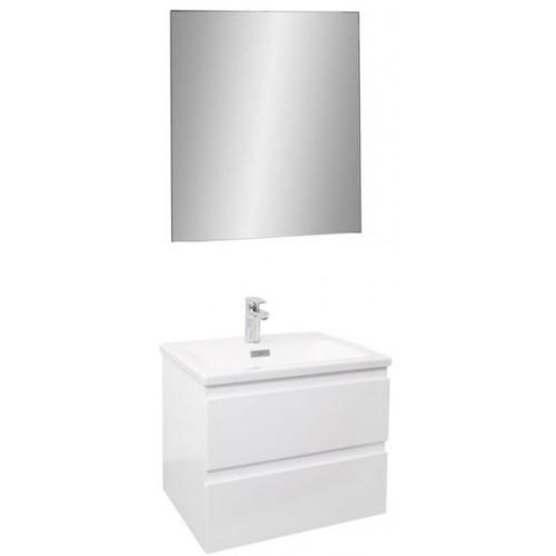 Мебель для ванной Jacob Delafon Madeleine 60 подвесная белая матовая