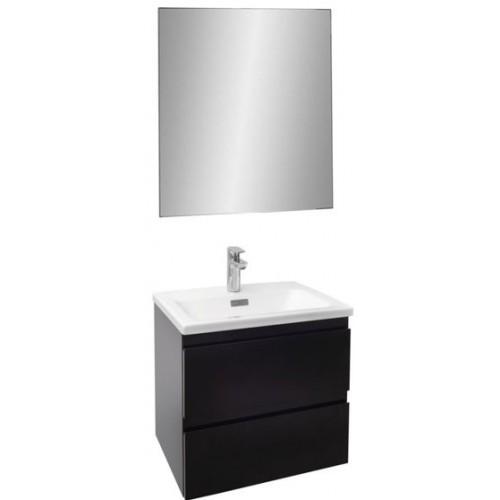 Мебель для ванной Jacob Delafon Madeleine 60 подвесная черный блестящий