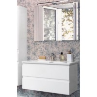 Мебель для ванной Jacob Delafon Madeleine 80 подвесная белый блестящий