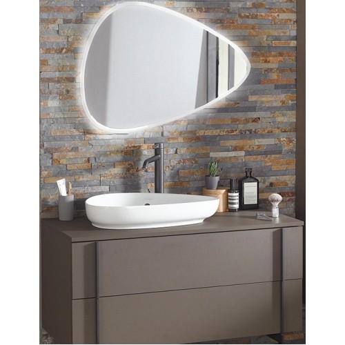 Мебель для ванной Jacob Delafon Nouvelle Vague 100 подвесная коричневая кожа