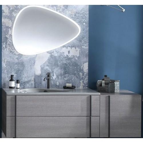 Мебель для ванной Jacob Delafon Nouvelle Vague 145 подвесная фактурный дуб раковина кашемир