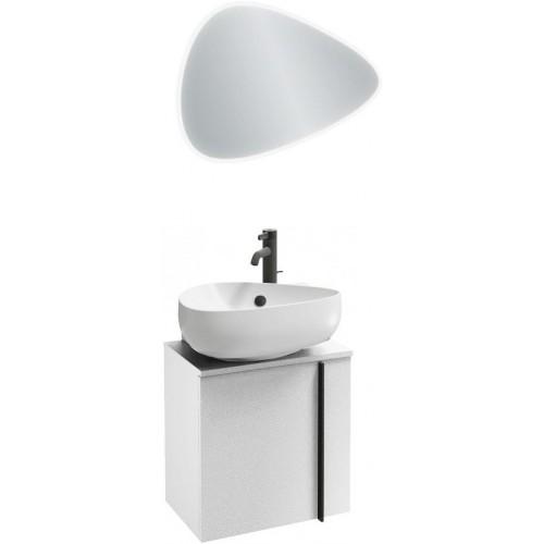 Мебель для ванной Jacob Delafon Nouvelle Vague 45 подвесная левая белый сатин