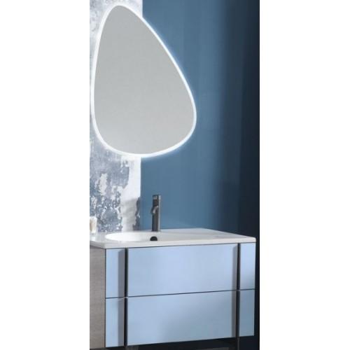 Мебель для ванной Jacob Delafon Nouvelle Vague 80 подвесная блестящий аквамарин