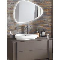 Мебель для ванной Jacob Delafon Nouvelle Vague 80 подвесная коричневая кожа