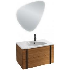 Мебель для ванной Jacob Delafon Nouvelle Vague 80 подвесная ореховое дерево