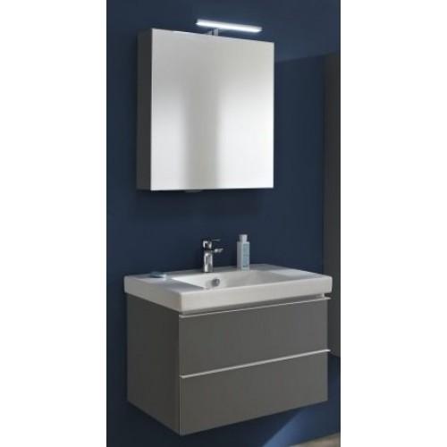 Мебель для ванной Jacob Delafon Odeon Up 60 подвесная правая с 2мя ящиками серый антрацит