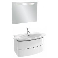Мебель для ванной Jacob Delafon Presqu'ile 100 подвесная с 2мя ящиками белая