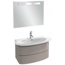 Мебель для ванной Jacob Delafon Presqu'ile 100 подвесная с 2мя ящиками серый титан
