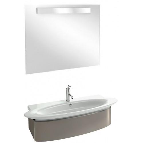 Мебель для ванной Jacob Delafon Presqu'ile 100 подвесная серый титан